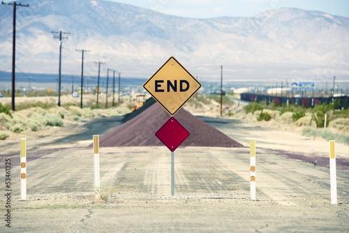 Tablou Canvas Road End