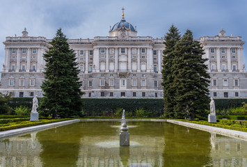 Royal Palace from Madrid, Spain