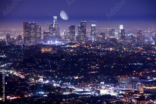 Photo  Los Angeles at Night