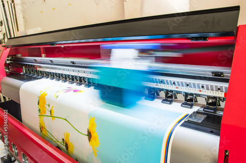 Fotografie, Obraz  vinyl printer