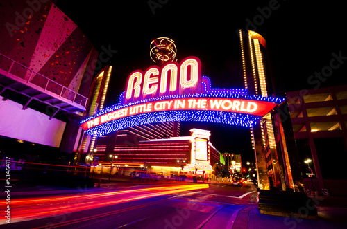 Fotografie, Obraz  The Beautiful view of Reno