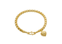 The Attractive Golden Bracelet...