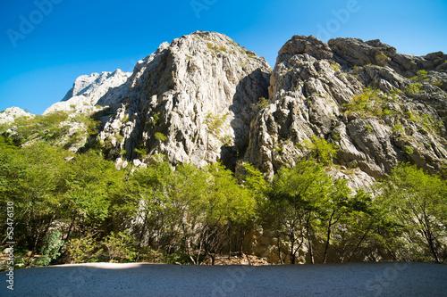 Fotografie, Obraz  Mountains Paklenica National Park