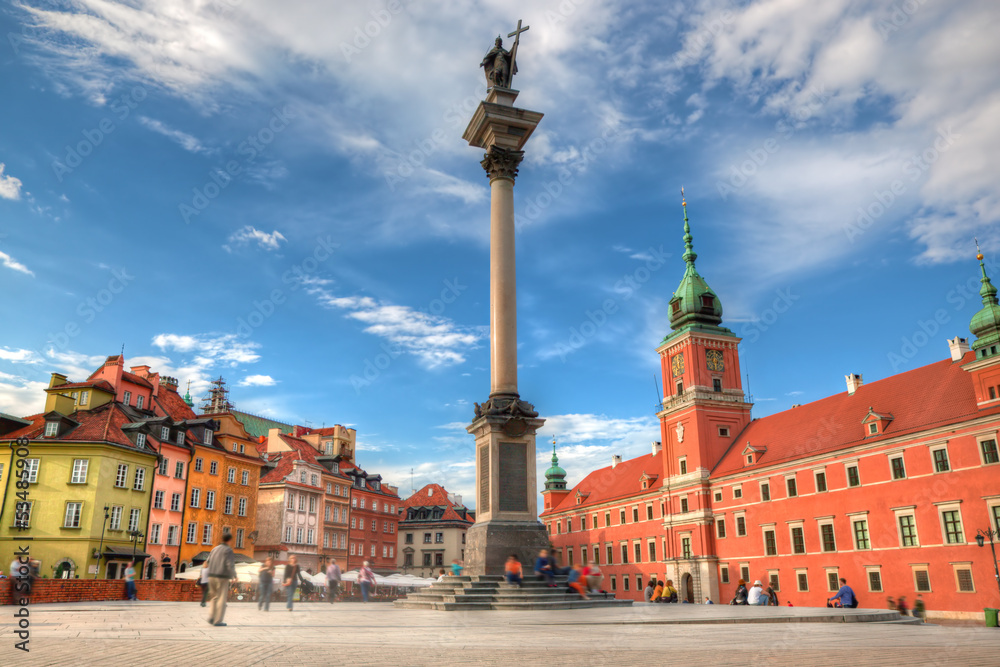 Fototapety, obrazy: Old town in Warsaw, Poland