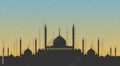 Photo  Skyline: minarets and domes