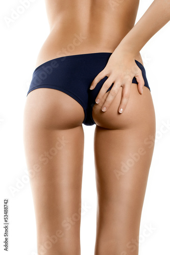 Fotografie, Obraz  Woman With Perfect Shape Beautiful Buttocks