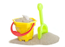 Sand Bucket And Spade Toy