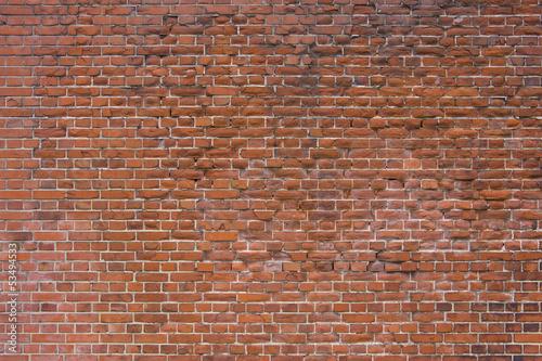 Spoed Fotobehang Baksteen muur 煉瓦塀