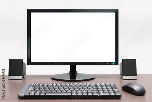 Fotografia  Contemporary desktop computer