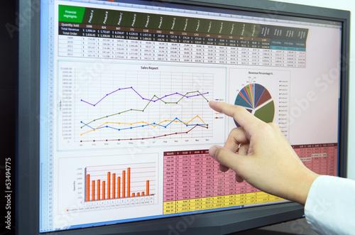 Fotografía  Business analysis