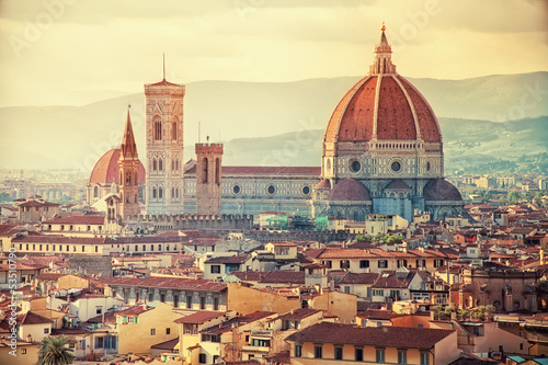Photo sur Toile Florence Beautiful Florence