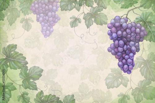 artystyczny-tlo-z-akwareli-ilustracja-winogrona
