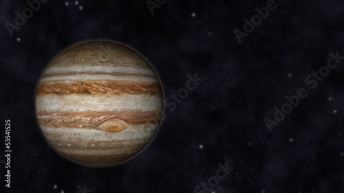 Photo  Planet Jupiter