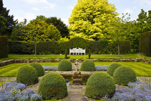 Formal English Garden With Top...
