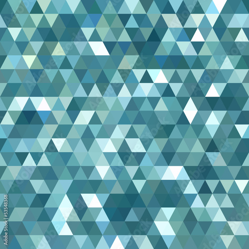 Spoed Foto op Canvas ZigZag Abstract Triangle Background Pattern