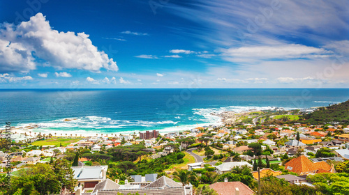 Staande foto Afrika Seaside of Cape Town
