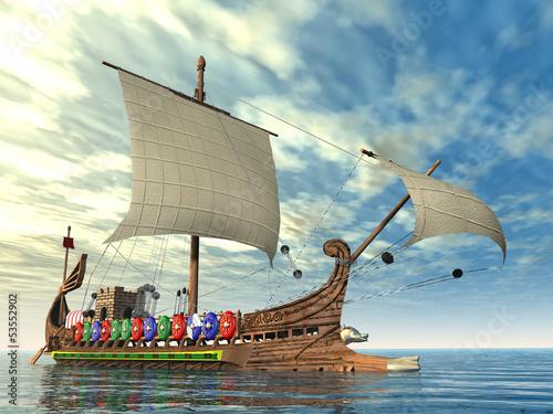 starozytny-rzymski-okret-wojenny