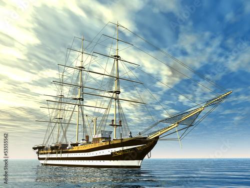 statek-zaglowy
