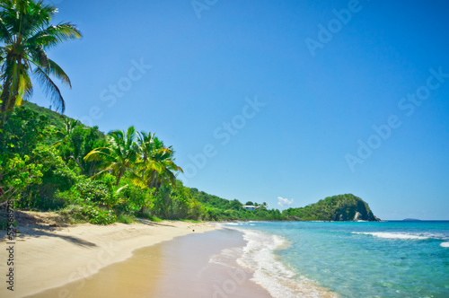 Tuinposter Caraïben Beautiful view of Tortola, British Virgin Islands