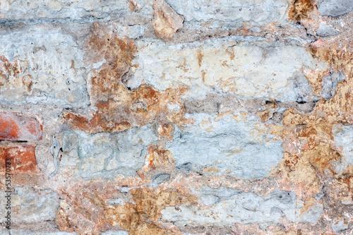 Fotobehang Oude vuile getextureerde muur cracked background
