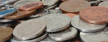 Pile Of British Coins