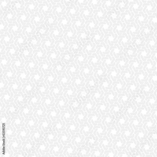 In de dag Retro White hexagon seamless retro vector background