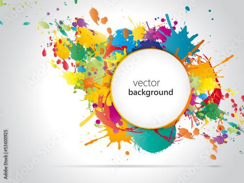 Αφίσα Colorful Background