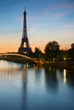 Fototapeta Fototapety z wieżą Eiffla - Tour Eiffel Paris