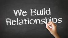 We Build Relationships Chalk I...