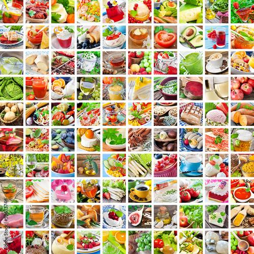 Fotografie, Obraz  Kochen - Food - Collage