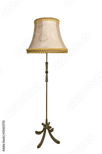 Fotografie, Obraz  Floor-lamp