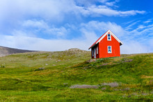 House In Iceland.