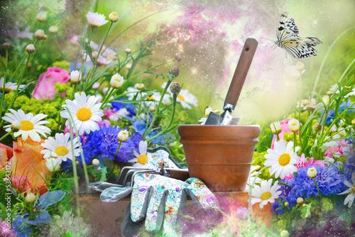 Gartenromantik