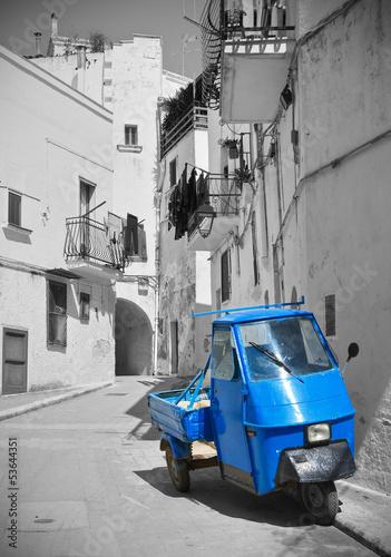 In de dag Aap Alleyway. Castellaneta. Puglia. Italy.