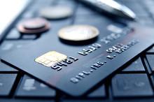 Kreditkarte Auf Laptop