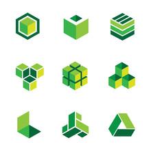 Green Box Logos And Icons