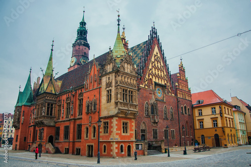 fototapeta na szkło Wrocław