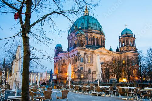 Keuken foto achterwand Berlijn Berlin Dom