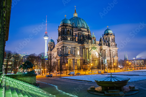 Photo sur Toile Berlin Berlin Dom