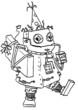 Robot Geburtstag