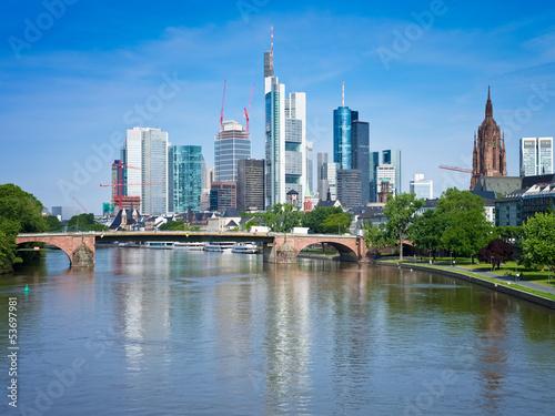 Fototapety, obrazy: Frankfurt am Main