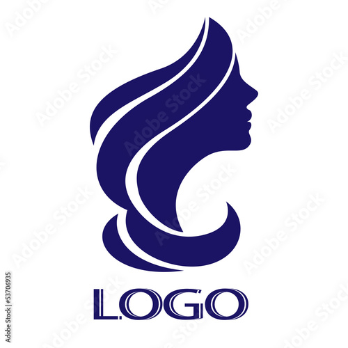 Vector girl for logo #53706935