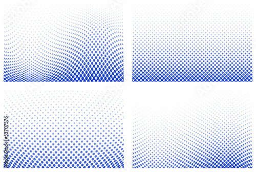 Valokuva  dotted halftone background