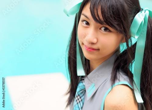 Fotografie, Obraz  Pretty cosplay dívka