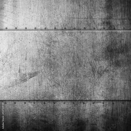 Türaufkleber Metall Grunge metal background