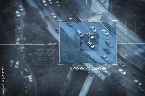 Pinturas sobre lienzo  Spy Satellite