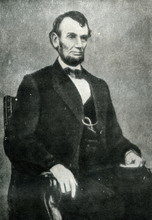Abraham Lincoln (9. February, 1864)