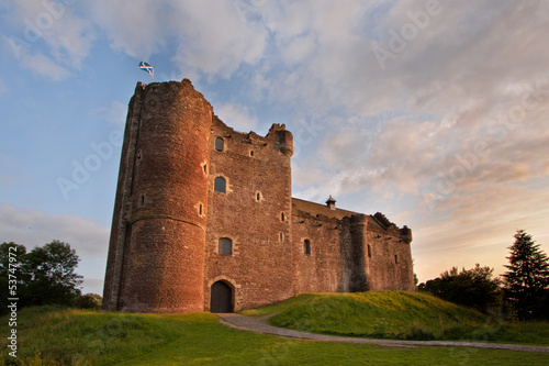 Deurstickers Kasteel Doune Castle, Stirlingshire, Scotland