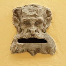 Antique Marble Mailbox ,Tuscany
