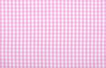 Pink Checkered Fabric